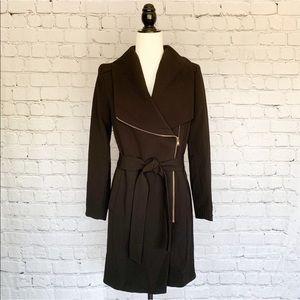 H&M Trench Coat - Black/Gold